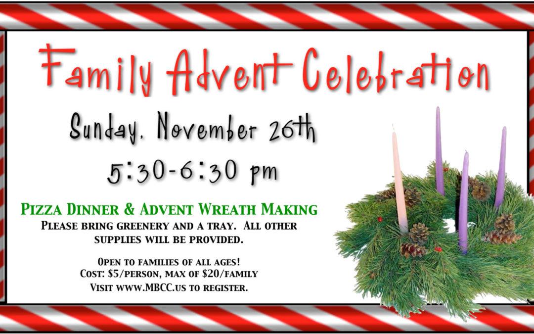 Family Advent Celebration