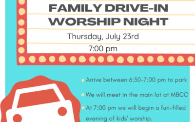 Drive In Family Worship Night